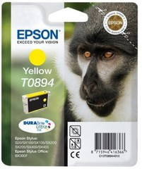 (Origineel Epson) T0894 inktcartridge geel low capacity 3.5ml 1-pack
