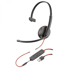 Plantronics Blackwire C3215-USB A black