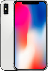 Apple iPhone X 64GB Silver - A grade