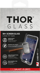 THOR Glass Case-Fit for Galaxy J3 (2017) EU clear