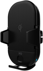 XQISIT Premium Wireless Car Charger 10W black