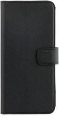 XQISIT Wallet case Viskan for Galaxy S8 black