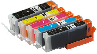 Canon PGI 550 CLI 551 zwart / cyan/ yellow/ magenta Multipack XL (6509B009) 5 Cartridges