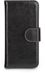 XQISIT Wallet Case Eman for iPhone 5/5s/SE Zwart