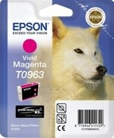 (Origineel Epson) T0963 inktcartridge vivid magenta standard capacity 11.4ml 1-pack