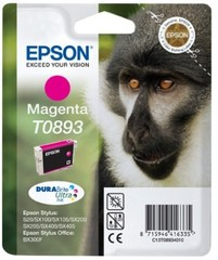 (Origineel Epson) T0893 inktcartridge magenta low capacity 3.5ml 1-pack