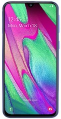 Samsung Galaxy A40 Dual Sim blauw