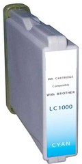 Brother LC 1000/970 Cyaan XL (LC-1000C) 35 ml