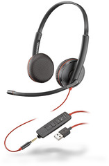Plantronics Blackwire C3225-USB A black