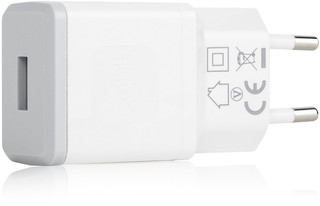 XQISIT Travel Charger 2,4A USB Wit