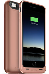 Mophie Juice Pack 2600mAh for iPhone 6/6s rose gold colored