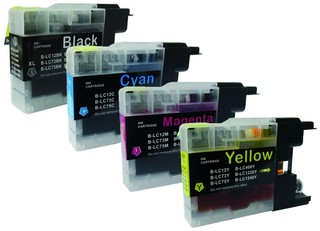 Brother LC 1240 Multipack XL (LC1240VALBPDR) 4 Cartridges