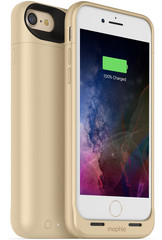 Mophie Juice Pack Air 2525 mAh Case for iPhone 7 gold colored