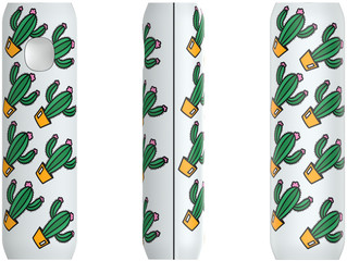 FLAVR Power Bank Cactuses colourful