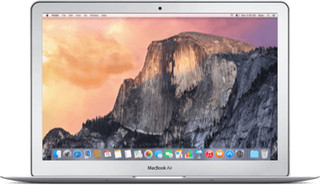 Apple Macbook Air Core i5 1.3 GHz 13 Inch 128 GB - 5 sterren