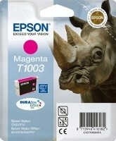 (Origineel Epson) T1003 inktcartridge magenta standard capacity 11.1ml 1-pack
