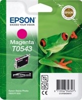 (Origineel Epson) T0543 inktcartridge magenta standard capacity 13ml 400 pagina's 1-pack