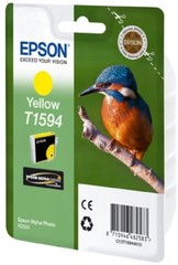 (Origineel Epson) T1594 inktcartridge geel standard capacity 1-pack Stylus Photo R2000