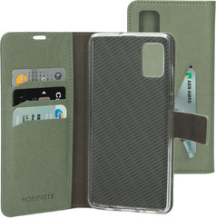 Mobiparts Classic Wallet Case Samsung Galaxy A51 Stone Green
