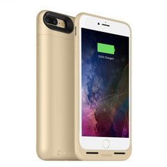 Mophie Juice Pack Air 2420 mAh Case for iPhone 7/8 Plus gold colored