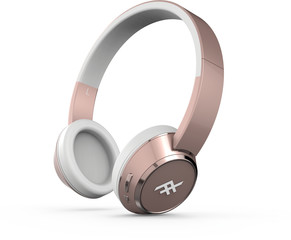 iFrogz Audio-Coda Wireless Headphone rose gold colored