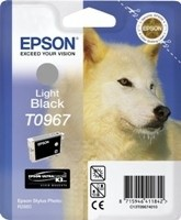 (Origineel Epson) T0967 inktcartridge licht zwart standard capacity 11.4ml 1-pack