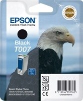 (Origineel Epson) T007 inktcartridge zwart standard capacity 16ml 540 pagina's 1-pack