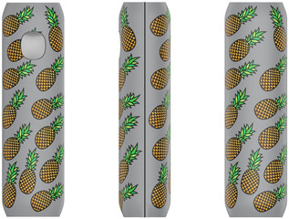 FLAVR Power Bank Pineapples colourful