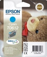 (Origineel Epson) T0612 inktcartridge cyaan standard capacity 8ml 250 pagina's 1-pack