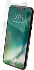 XQISIT Tough Glass CF for iPhone X clear