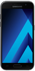 Samsung Galaxy A3 2017 zwart