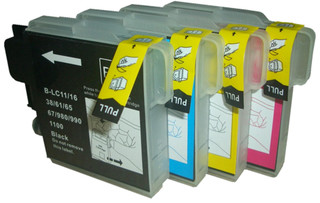 Brother LC 980 Multipack XL (LC980VALBP) 4 Cartridges