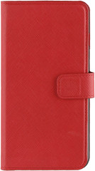 XQISIT Wallet case Viskan for iPhone6+/6s+/7+ red