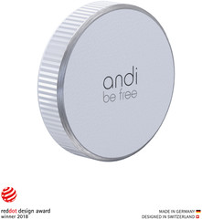 Andi Be Free Wireless Universal Charger 15 Watt  white