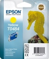 (Origineel Epson) T0484 inktcartridge geel standard capacity 13ml 430 pagina's 1-pack