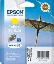(Origineel Epson) T0444 inktcartridge geel high capacity 13ml 420 pagina's 1-pack