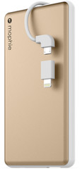 Mophie Powerstation plus 6000mAh for Universal gold colored