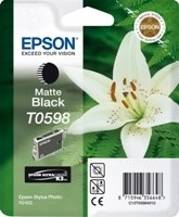 (Origineel Epson) T0598 inktcartridge matzwart standard capacity 13ml 1-pack