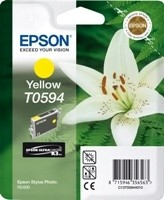 (Origineel Epson) T0594 inktcartridge geel standard capacity 13ml 1-pack