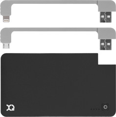XQISIT Power Bank 3000 mAh microUSB/lightning for Universal Zwart