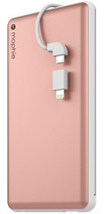 Mophie Powerstation plus XL 12000mAh for Universal rose gold colored