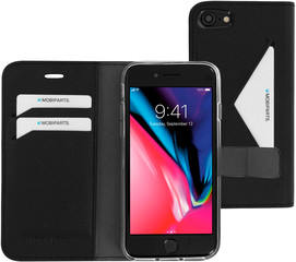 Mobiparts Classic Wallet Case Apple iPhone 7/8/se2020 Black