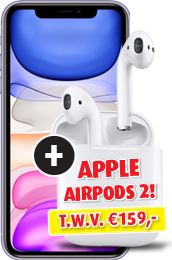 Apple iPhone 11 + AirPods